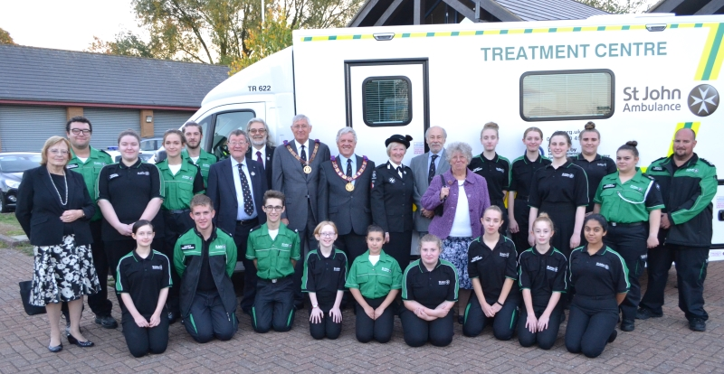 St John Ambulance bucks