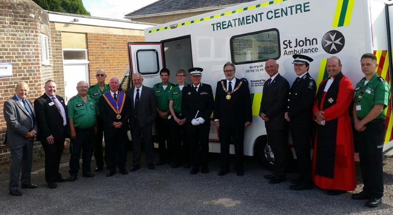 St John Ambulance Treatment Centre Wiltshire